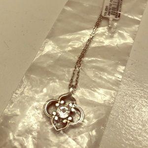Brighton Sterling Silver Diamond Pendant Necklace